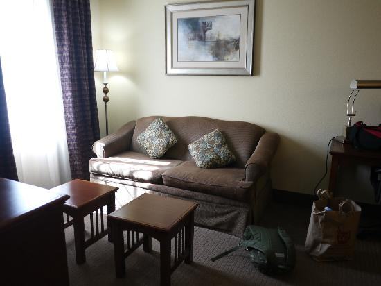 Staybridge Suites Reno Nevada: Living room