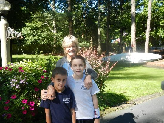 Duxbury Tall Pines: owner with my sons