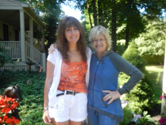 Duxbury Tall Pines: owner and I