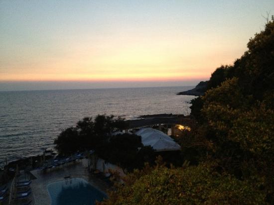 Hotel Punta Rossa: panorama dal ristorante