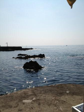 هوتل بونتا روسا: il mare 