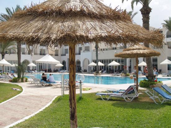 Hotel Al Jazira Beach & Spa: Vue de notre transat