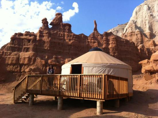 Goblin Valley State Park: Goblin Valley Yurt #1