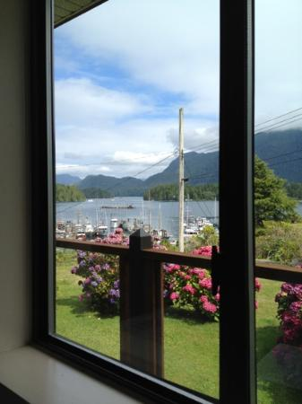 Tofino Motel HarbourView: Aussicht