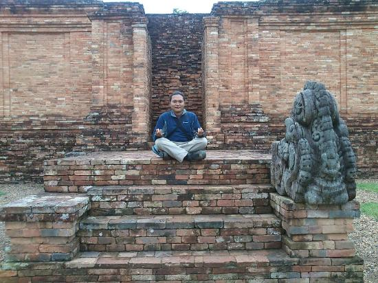 Jambi, Indonesia: One of the excavated temple