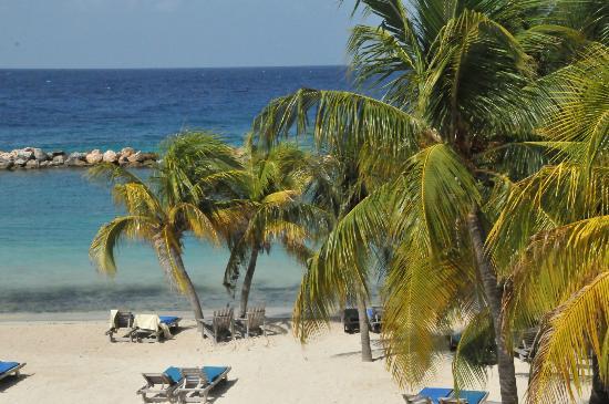 Lions Dive & Beach Resort Curacao: Blick vom Balkon