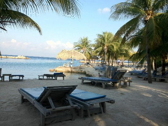 Lions Dive & Beach Resort Curacao: Blick über den Strand