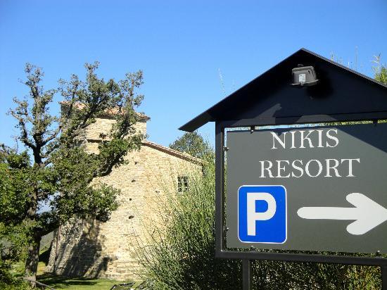 Nikis Resort: Ingresso