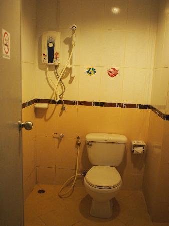 Convenient Resort: shower