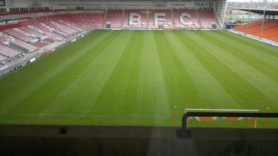 Blackpool FC Hotel: View from room 334