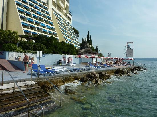 Strand Bild Von Grand Hotel Bernardin Portoroz Tripadvisor