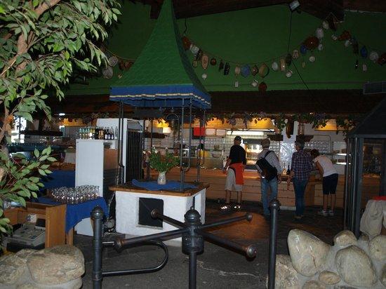 Bergrestaurant Kaiserburg: il self service