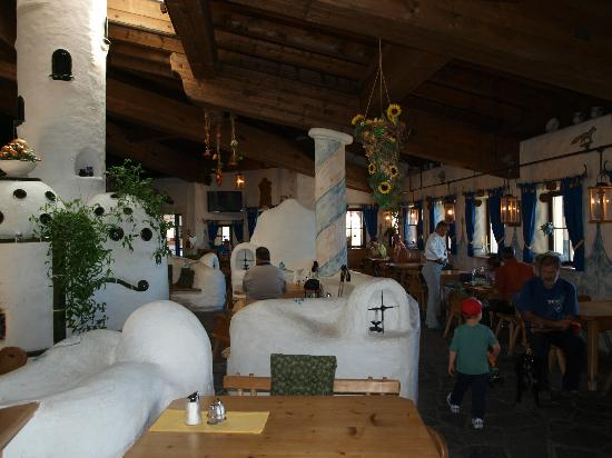Bergrestaurant Kaiserburg: L'interno