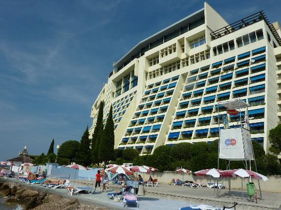 Promenade Nach Piran Bild Von Grand Hotel Bernardin Portoroz