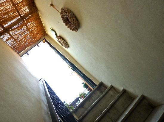 Hotel Villa La Tour: Escalier vers le toit