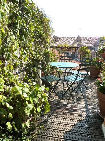 Hotel Villa La Tour: Terrasse Jardin sur le toit