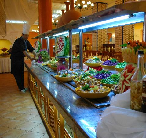 Nour Palace Resort : restaurant