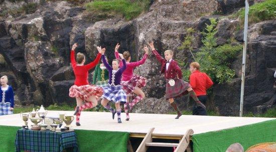 Around Loch Ness: Portree Highland Games