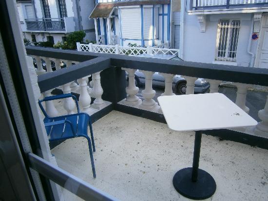 Hotel Castel Victoria : La terrasse de la chambre Cosy