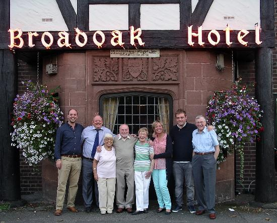 The Broadoak Hotel: Family party