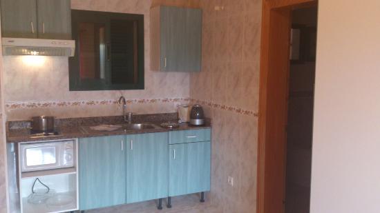 Apartamentos Solvasa Cabo de Banos: cocina