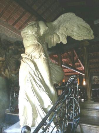 Michelangelo da Vinci: ingresso sala superiore