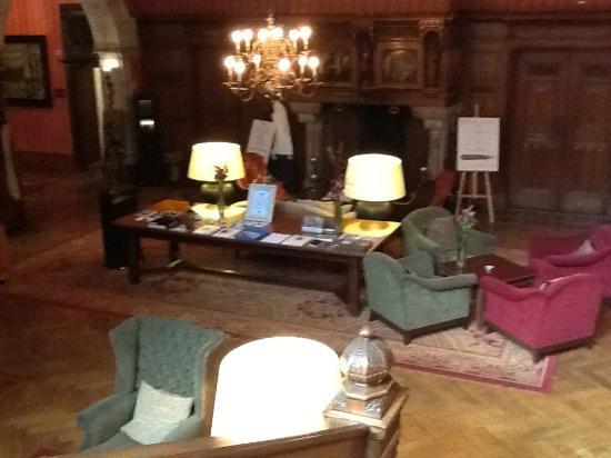 Landgoed Duin & Kruidberg: the reception hall