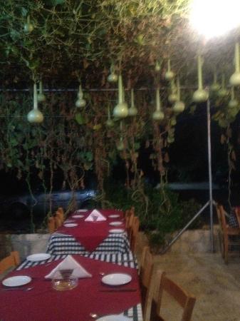 Yiannis Tavern: Courtyard