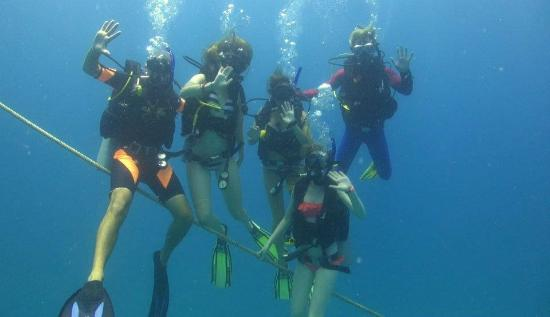 Asia Divers Resort: Completing our open water