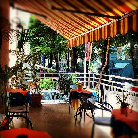 Hotel Villa Elia: La terrazza