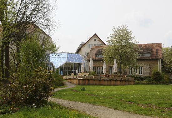 Stiftsgut Keysermuehle : Das Haus von der Parkseite