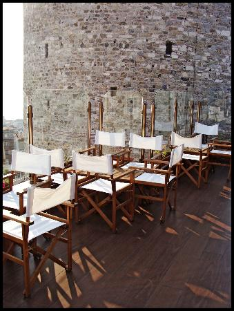 Anemon Galata Hotel: Roof terrace
