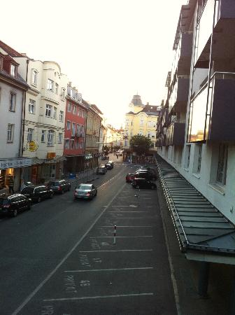 Hotel Geyer: Vista dalla camera