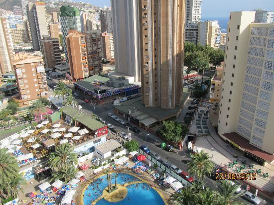 Hotel Marina Resort Benidorm : Vistas Planta 16