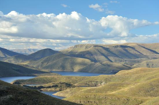Mohale Lodge: Mohale Dam