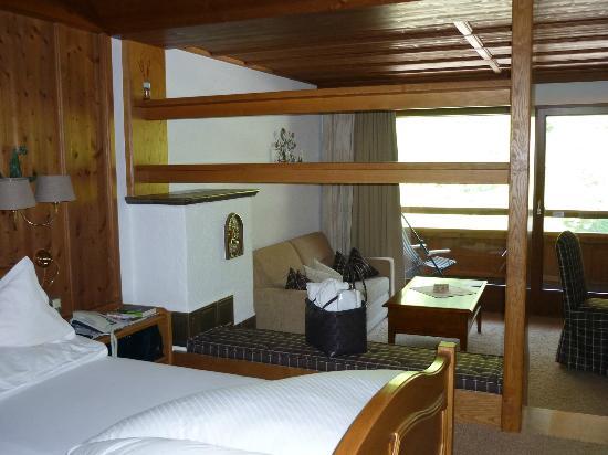 Hotel Berghof: unser gemütliches Zimmer