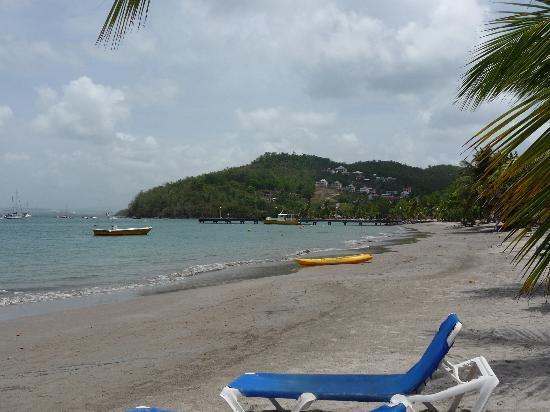 Hotel-Club Trois Ilets: plage de l'hotel