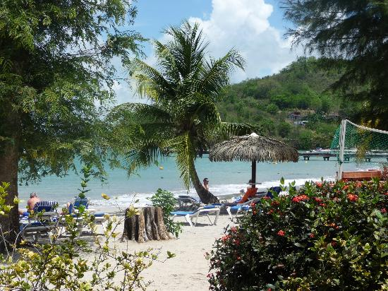 Hotel-Club Trois Ilets: plage hotel