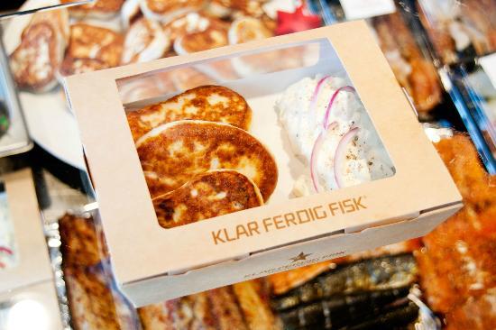 Klar Ferdig Fisk: Fishcakemeny