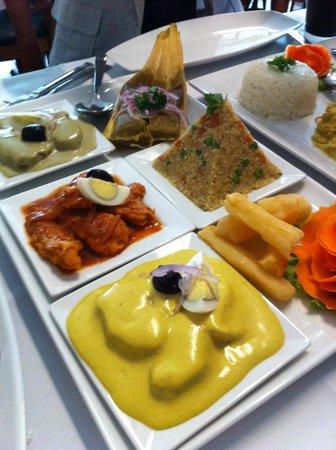 Machu Picchu Peruvian Cuisine: Sampler Appetizer Platter
