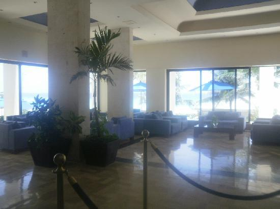 Occidental Tucancun: Section of lobby August 2012