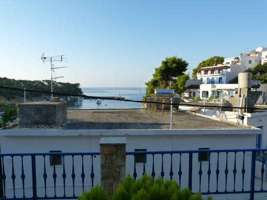 View of Votsi harbour