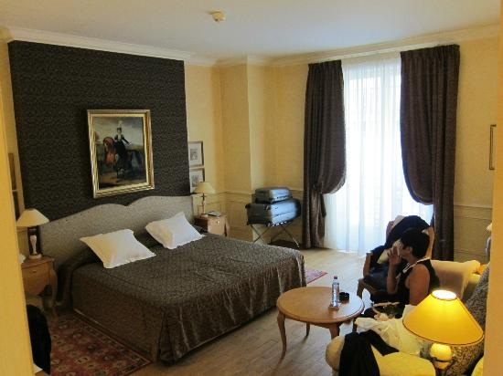 Hotel Lotti Paris: Our large Executive room
