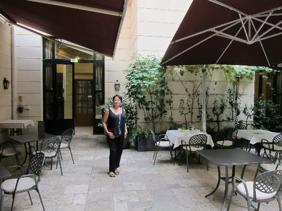 Hotel Lotti Paris: Outdoor terrace