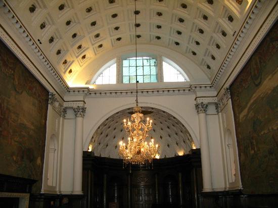 Bank of Ireland: Barrel ceiliing