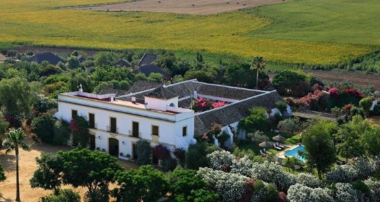 Hacienda de San Rafael: Hacienda aerial photo