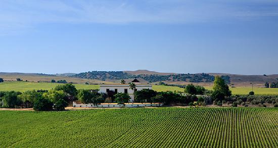 Hacienda de San Rafael : Hacienda aerial photo