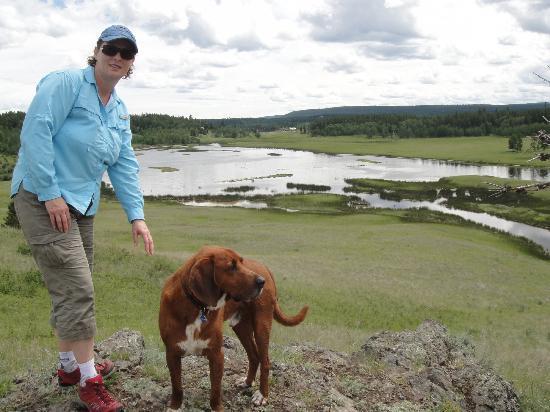 Spruce Hill Resort & Spa: Hiking the marsh area, beautiful!