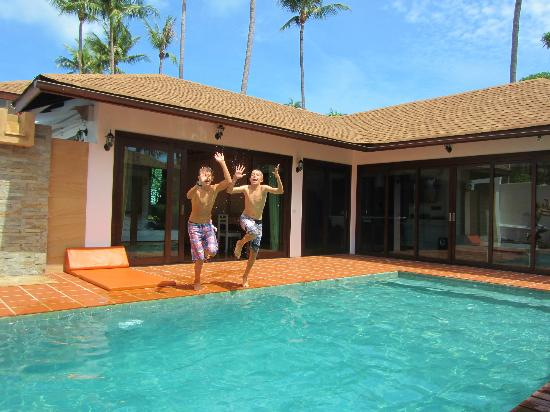 Samui Jean Resort : piscine
