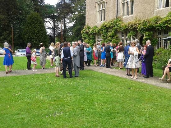 Woodborough Hall: Our guests enjoying the grounds